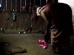 Marriede Bhabhi Bra Panty Pehante Huye Dress Change