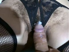 Hot girl gets cumshot in face and pussy collection