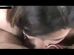 Punjabi married aunty – hard blowjob clip