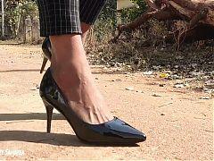 Indian Mistress in High Heels