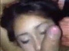 Beautiful Nepali girl sucking