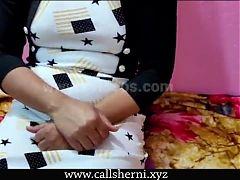 Real Bhabhi Devar First Painful Sex video, Hindi audio
